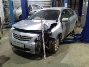осмотр после ДТП в Волгограде