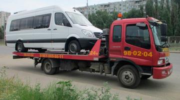 эвакуатор перевозка микроавтобуса